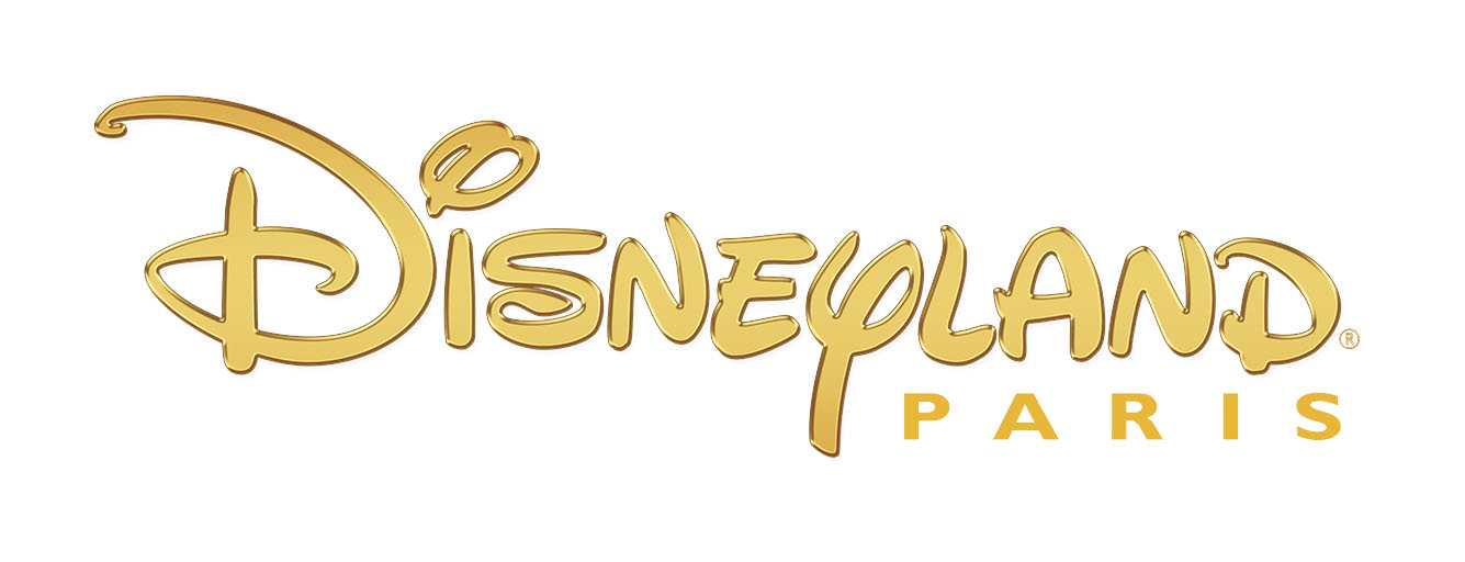 gold disney land paris logo