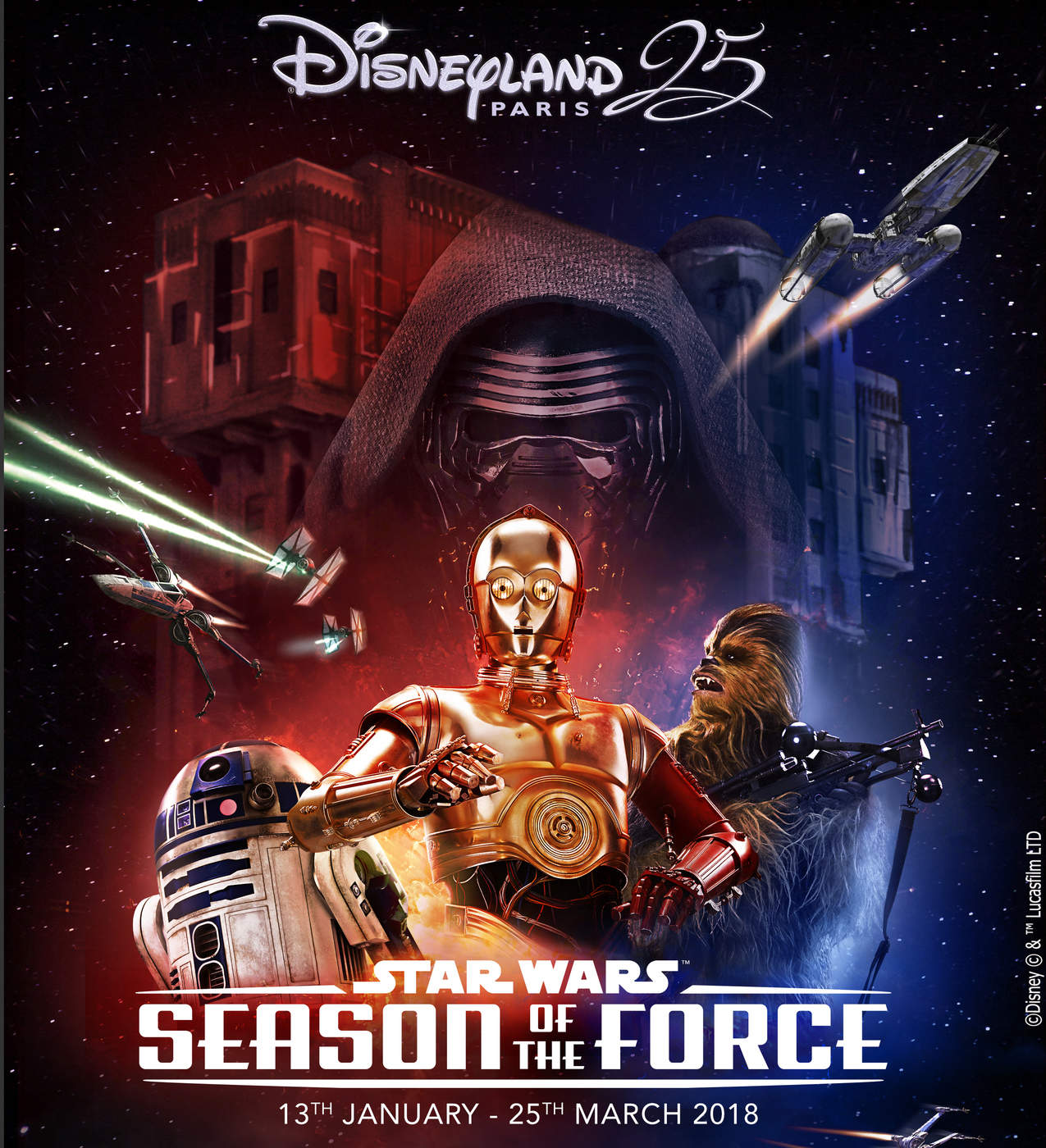 season of the force - star