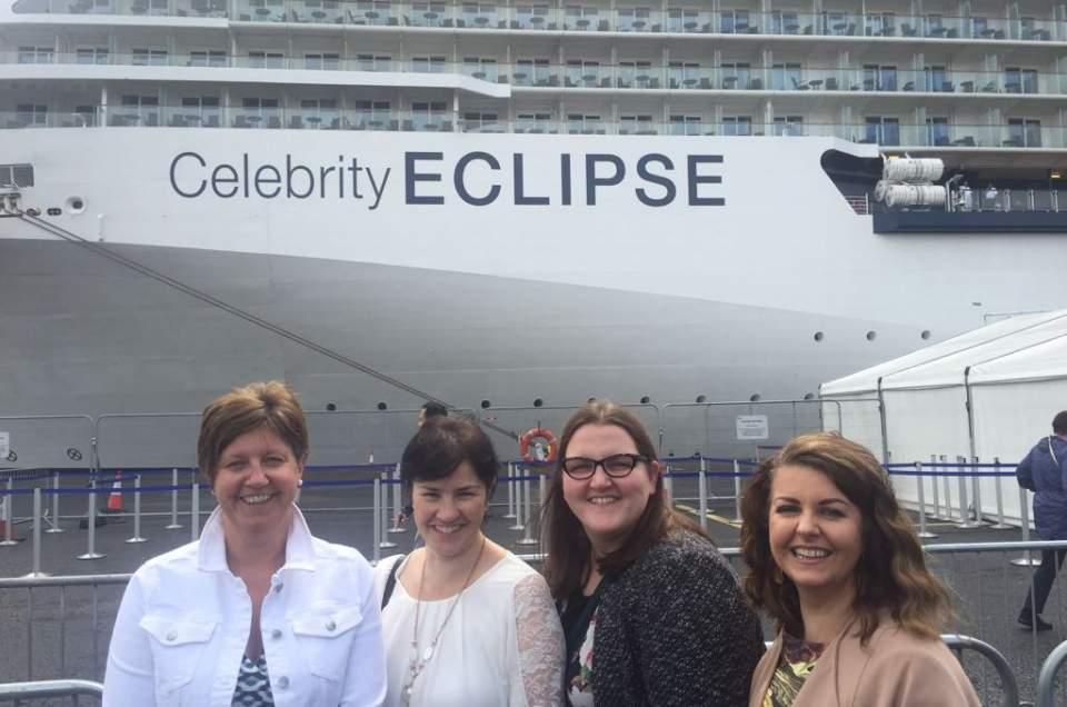 Celebrity Eclipse Ship Visit