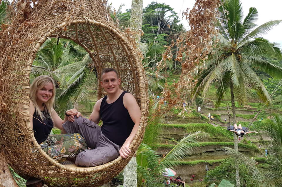 Carina & Dermott McGready's Honeymoon