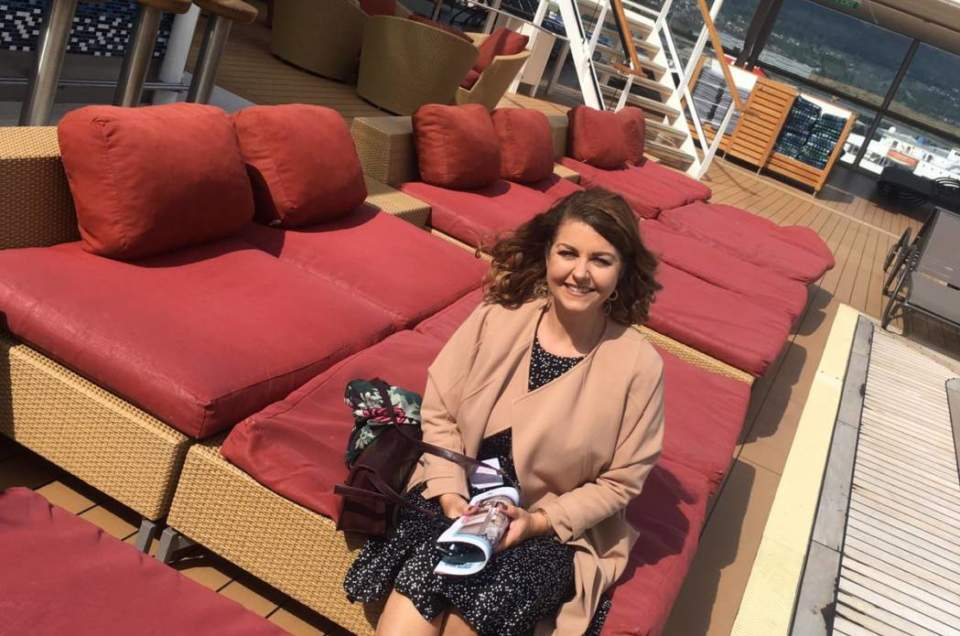 Margaret's Celebrity Reflection Ship Visit - August 2019