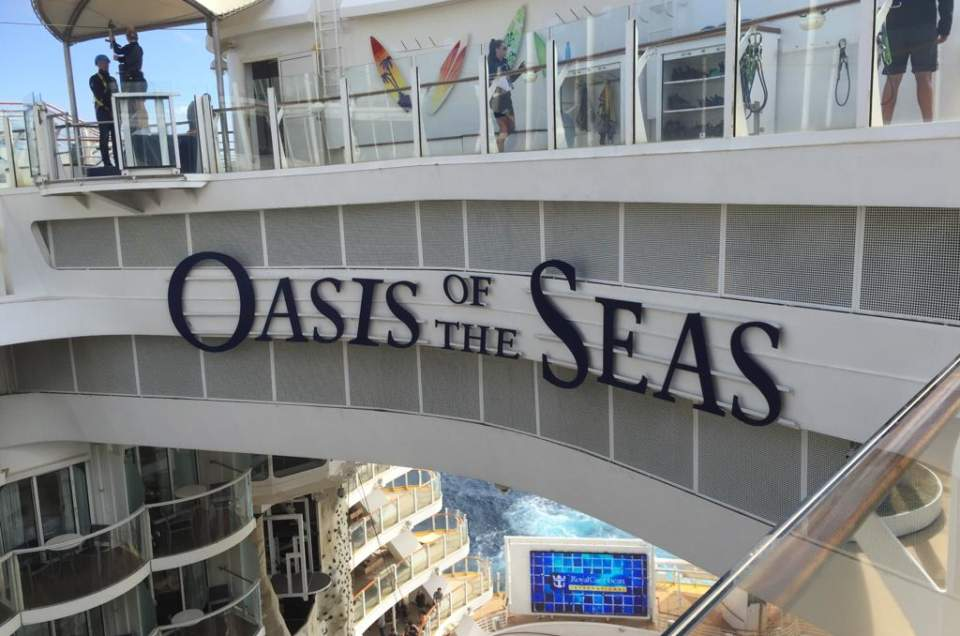 Mandy's review of Royal Caribbean's Oasis of the Seas