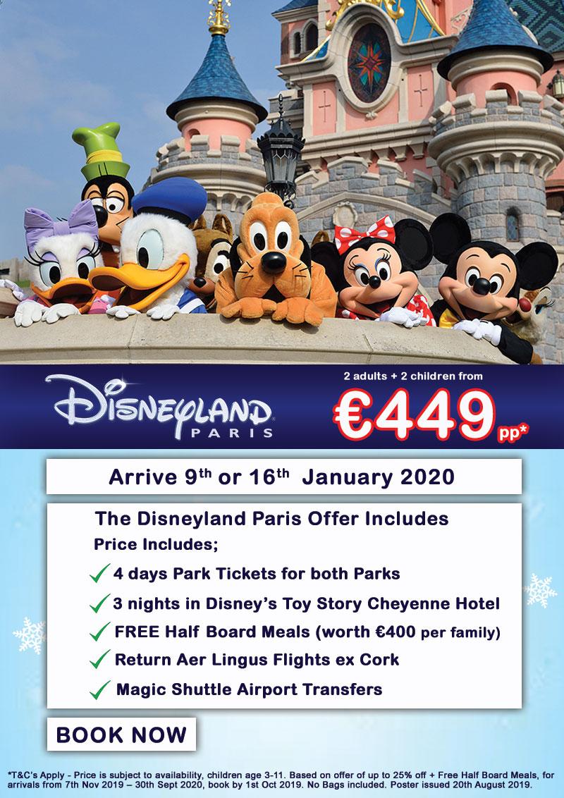 Disneyland Paris January 2020 Carefree Travel